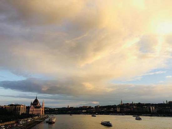 【布達佩斯印象】多瑙河畔看看雲