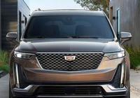 凱迪拉克XT6正式亮相!定位中大型SUV,車長近5米2,3.6L+V6+四驅