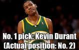 美媒重排2007年NBA選秀前十,奧登阿聯無緣榜單,杜蘭特獲狀元