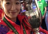 世乒賽,劉詩雯4-2逆轉陳夢摘女單冠軍取得個人突破,單局再轟11-0!你怎麼看?