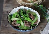 芥蘭炒牛肉的做法