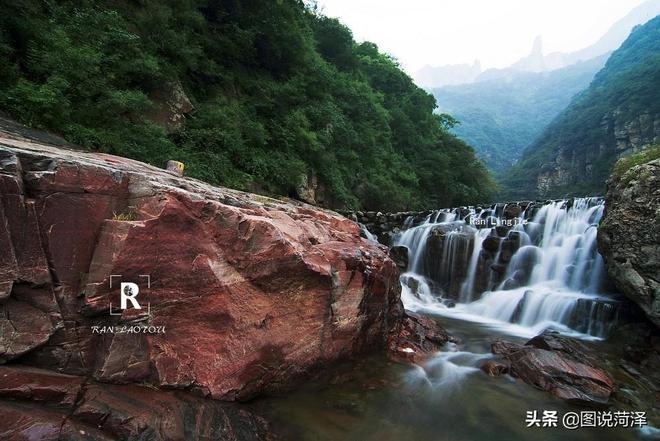 向著華北平原前進,太行山的水,從委婉小溪到激盪瀑布一路奔騰