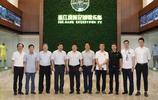 杜兆才參觀浙江綠城訓練基地時表示:浙江省應該有一支中超俱樂部
