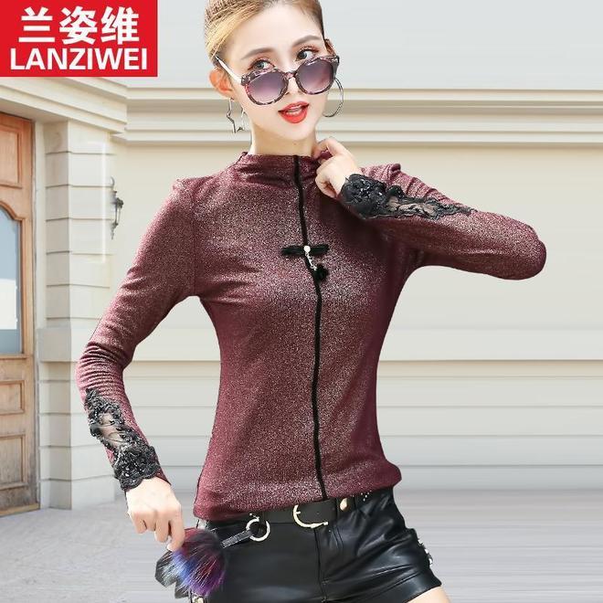 女人得穿適合自己的打底衫,這6款酒紅色打底衫,顯瘦減齡還顯白