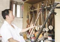 邱躍進20年匠心打造民族樂器 深得各地演奏者喜愛