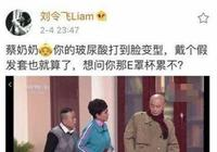 """音樂劇演員劉令飛向蔡明道歉 稱其""""玻尿酸打到臉變形"""""""