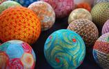 中國民間優秀文化靈巧的繡手鞠球