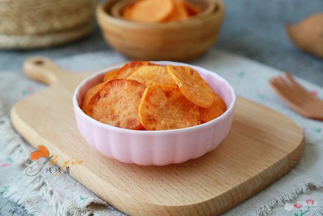香甜紅薯片的做法