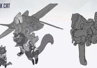 守望先鋒被取消的動物英雄 機甲火箭貓