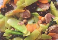 萵苣炒香腸
