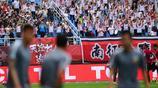 中超-遼寧宏運Vs天津權健 兩隊球迷看臺助威遠征軍不輸氣勢
