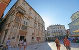 克羅地亞1700年的老城,歷久彌新,民眾依舊在古城遺蹟中生活