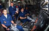 美國海軍展示俄亥俄級核潛艇佛羅里達號內部場景