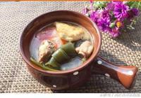 飯前一碗味噌湯,據說可以暖身醒胃,不知真假,但喝湯確實舒服