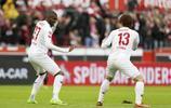 足球——德甲:科隆勝柏林赫塔
