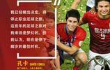 前中超外援孔卡宣佈退役以後,廣州恆大與上港俱樂部官方送上祝福