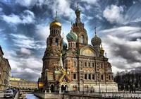 俄羅斯聖彼得堡滴血大教堂