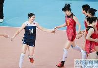中國女排勝印度隊