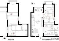 81平兩居室,半包花了6w!全屋乾淨整潔很清新!主臥設計太實用了