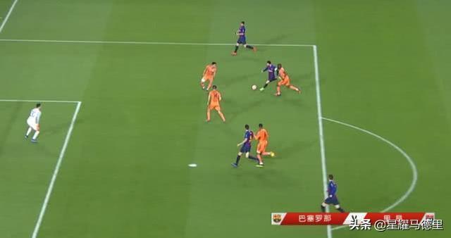 上帝視角!梅西神級助攻打穿里昂4人防線,歐冠1進球數據力壓C羅