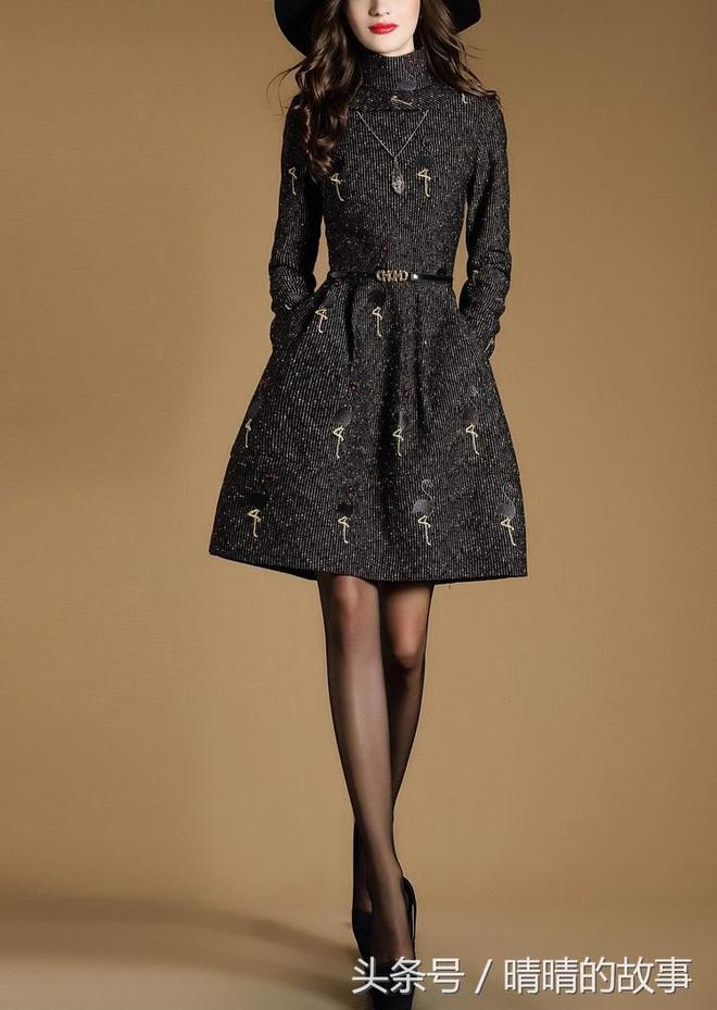 秋冬少不了穿裙子,小高腰設計的,修身顯瘦上檔次,瘋狂搶購中!