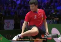 世乒賽男單1/8決賽樑靖崑贏了樊振東之後,為什麼會把鞋子放在球檯上?對此你怎麼看?