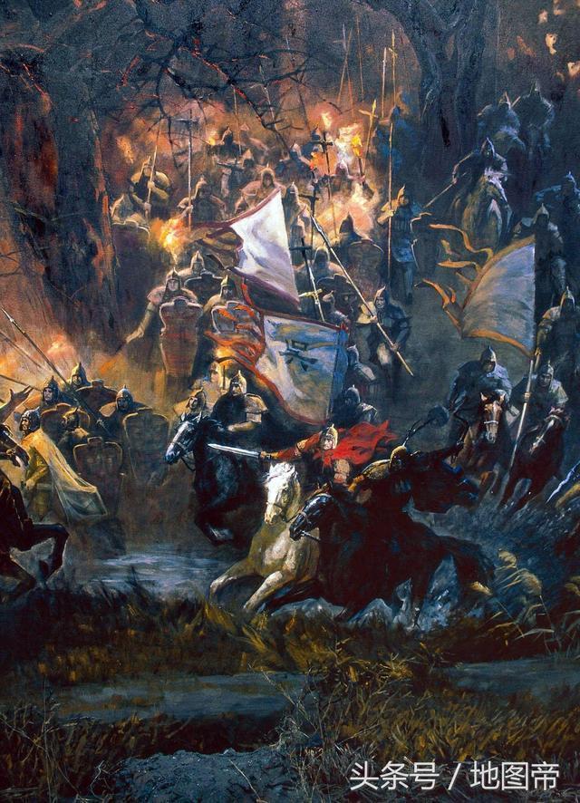 赤壁之戰發生在哪兒?
