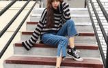 今年超流行的闊腿牛仔褲,第三款實在漂亮,一不小心就穿出女神範