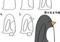 教幼兒園小朋友畫小動物,太實用,太簡單
