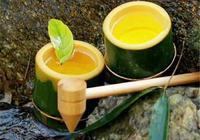 竹筒酒的釀造師是一竿竿毛竹,喝的就是鮮活的味兒