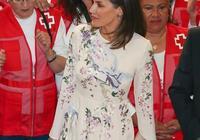 """西班牙王后再穿中國風太美了! 800塊""""仙鶴""""刺繡裙穿出8萬氣質"""