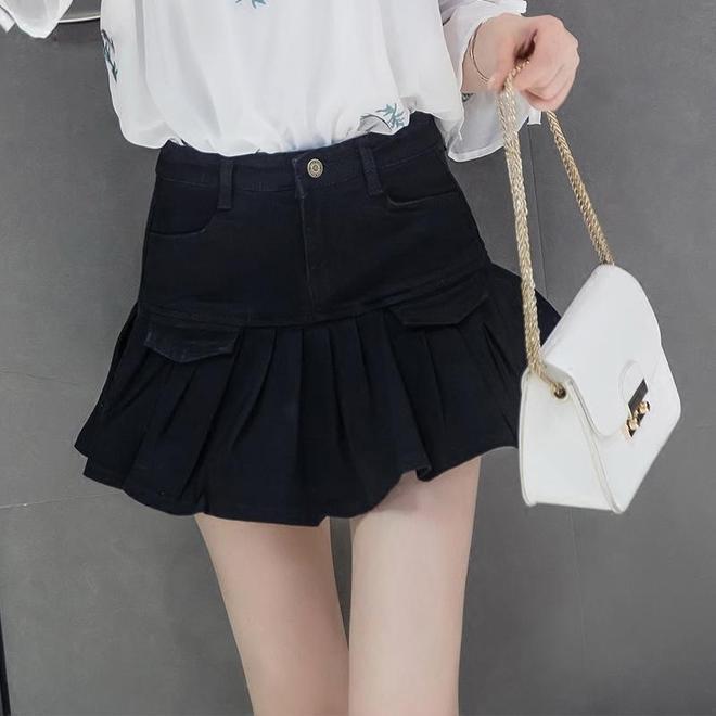 這五款最時尚的百褶牛仔裙,穿著真舒服,而且防走光不說,還特別顯腿白,顯腿長呢