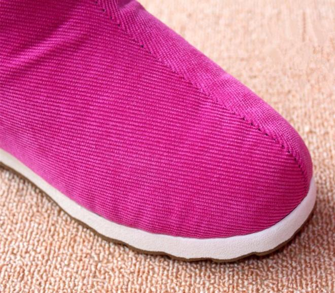 """老式拖鞋扔了吧,瞧這剛上新版""""包跟拖鞋"""",居家穿又暖又舒適"""