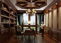 空間設計—書房—美式書房
