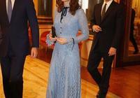 凱特王妃懷上三胎後首次公開亮相,穿蕾絲連衣裙身材仍姣好!