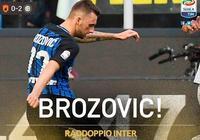 GIF:圓月彎刀,布羅佐維奇任意球擴大戰果
