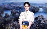 潘鴻海油畫家《設色高雅 人物神態寧靜》
