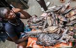 非洲的菜市場