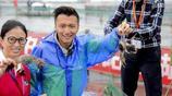 陽澄湖開捕,馬雲阿里邀上謝霆鋒冒雨直播,親撈今年第一簍大閘蟹