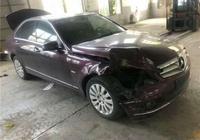 朋友花5萬收了一輛奔馳C級事故車,修車師傅:你真是撿到寶了
