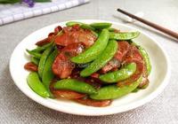 臘腸炒荷蘭豆