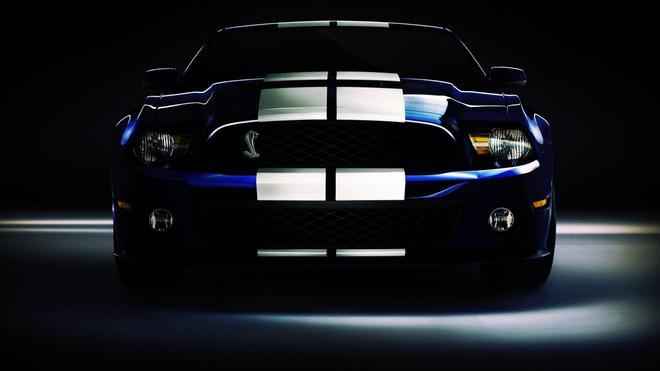 汽車圖集:現代福特野馬GT500時尚汽車