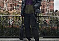 中國潮男都喜歡這樣穿羽絨服!