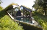 住宅設計:一個三角形鋼結構陽光房住宅,這樣的房子美上了天
