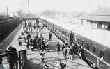 1933年的山海關老照片:圖3是山海關火車站,圖4是山海關海神廟!
