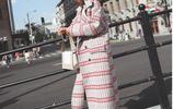 冬天你應該這麼穿,時髦格紋毛呢大衣,玩轉整個秋冬