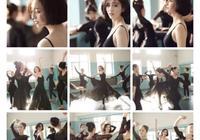 佟麗婭舞蹈拍攝,美得發光!無奈有點小意外,網友:放開你的手!