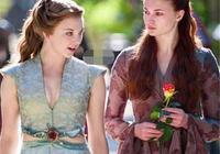 """《權力的遊戲》中""""北珊莎,南玫瑰"""",兩大美女誰跟勝一籌?"""