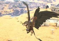攻擊力爆表的獅鷲,竟然被《方舟生存進化》鳳凰活活燒死?