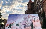 比現實更美,波蘭藝術家Minh Dam的城市水彩畫作品欣賞